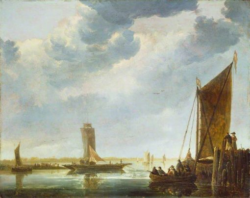 The Ferry Boat | Aelbert Cuyp | Oil Painting