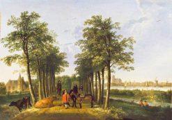 The Avenue at Meerdervoort | Aelbert Cuyp | Oil Painting