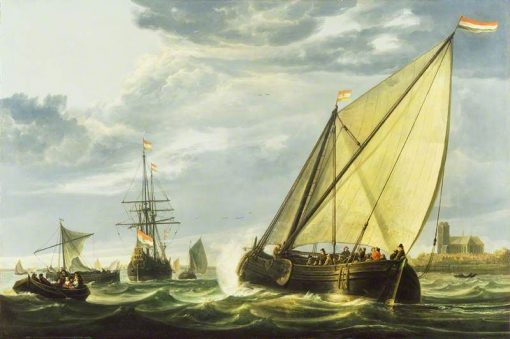 Shipping on the Maas