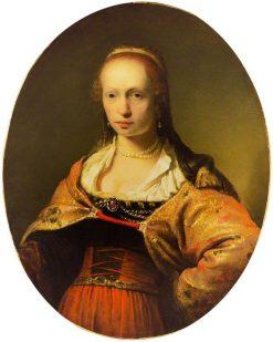 Portrait of a Young Woman | Aert de Gelder | Oil Painting