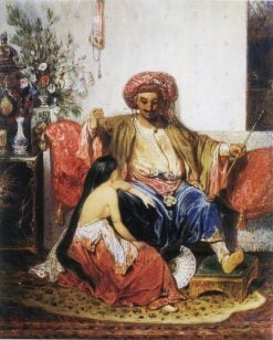 The Favourite of the Pasha | Alexandre Gabriel Decamps | Oil Painting
