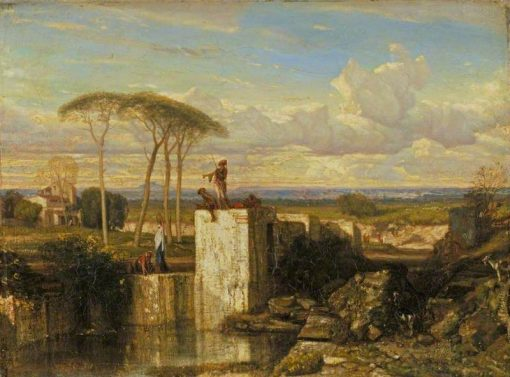 A Well in the East | Alexandre Gabriel Decamps | Oil Painting