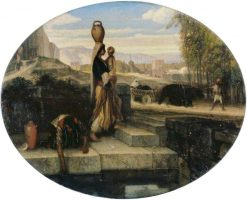 Eastern Women at a Well | Alexandre Gabriel Decamps | Oil Painting