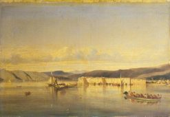 The Anchorage of Smyrna | Alexandre Gabriel Decamps | Oil Painting