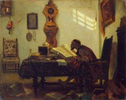 The Bookworm | Alexandre Gabriel Decamps | Oil Painting