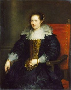 Isabella Waerbeke | Anthony van Dyck | Oil Painting