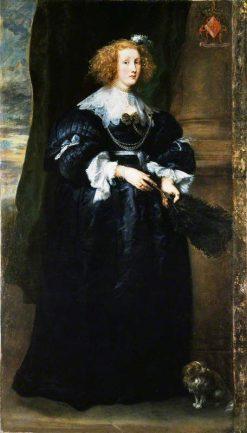 Marie de Raet   Anthony van Dyck   Oil Painting
