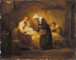 The Sister of Mercy | Ary Scheffer | Oil Painting
