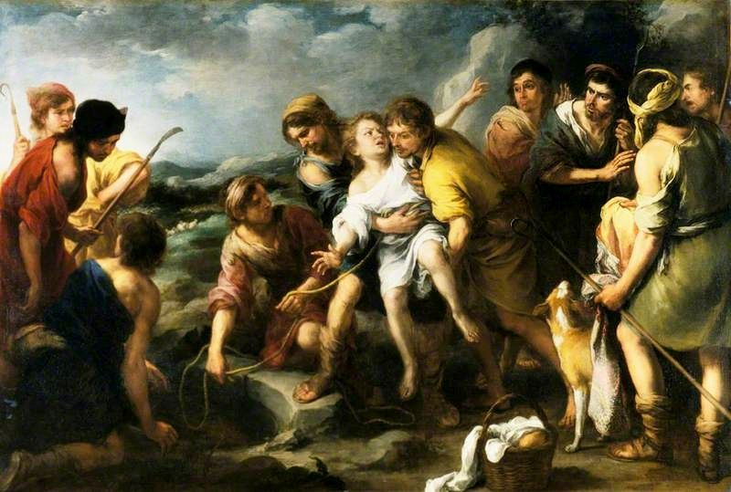 Joseph and His Brethren | BartolomE Esteban Murillo | Oil Painting