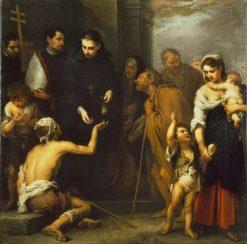 The Charity of Saint Thomas of Villanueva | BartolomE Esteban Murillo | Oil Painting
