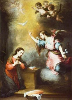 The Annunciation | BartolomE Esteban Murillo | Oil Painting