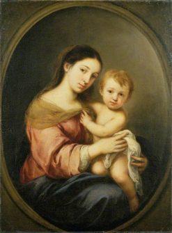 The Virgin and Child | BartolomE Esteban Murillo | Oil Painting