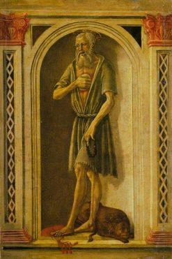 Saint Jerome | Benvenuto di Giovanni | Oil Painting