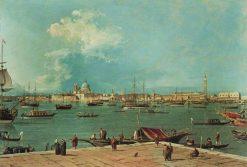 Venice: The Bacino di San Marco from San Giorgio Maggiore   Canaletto   Oil Painting