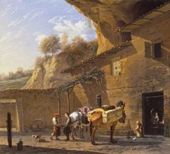 The Smithy | Carel Dujardin | Oil Painting