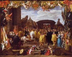 The Entry of Don Juan of Austria | David Teniers II | Oil Painting