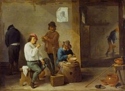 The Smokers | David Teniers II | Oil Painting