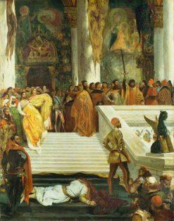 The Execution of the Doge Marino Faliero | Eugene Delacroix | Oil Painting