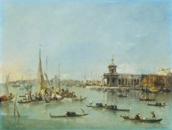 Venice: the Dogana with the Giudecca | Francesco Guardi | Oil Painting