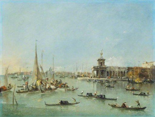 Venice: the Dogana with the Giudecca | Francesco Guardi | Oil Painting