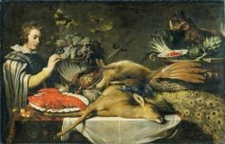 Pantry Scene with a Page | Frans Snyders | Oil Painting