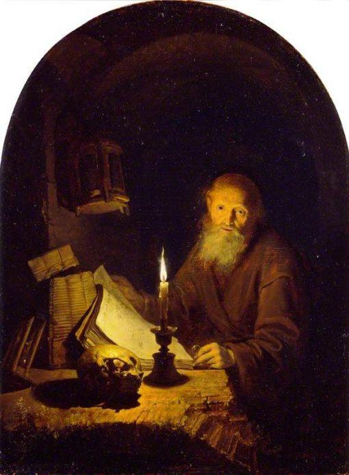 A Hermit | Gerrit Dou | Oil Painting
