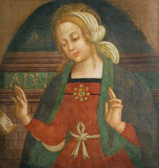 Virgin of the Annunciation | Italian School th Century   Unknown | Oil Painting