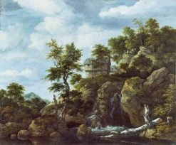 Rocky Landscape | Jacob van Ruisdael | Oil Painting