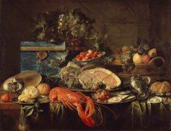 Still-Life with Lobster | Jan Davidsz. de Heem | Oil Painting