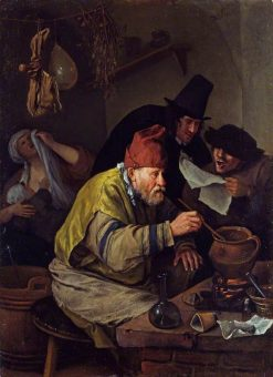 The Village Alchemist | Jan Havicksz. Steen | Oil Painting