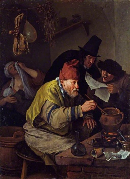 The Village Alchemist | Jan Havicksz. Steen | Oil Painting