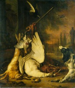 Dead Game and a Springer Spaniel | Jan Weenix | Oil Painting