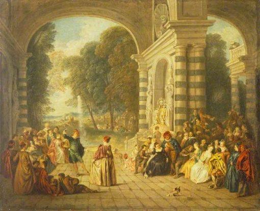 Les Plaisirs du Bal | Jean Baptiste Pater | Oil Painting