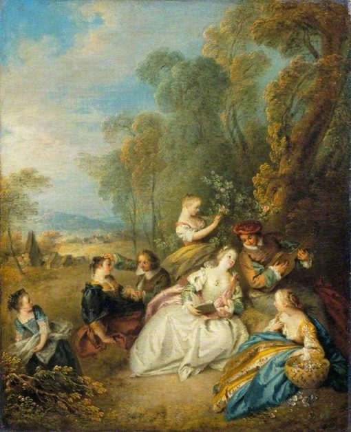 A Concert | Jean Baptiste Pater | Oil Painting