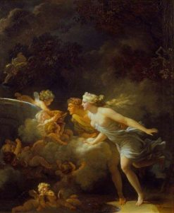 The Fountain of Love | Jean HonorE Fragonard | Oil Painting