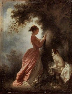 The Souvenir | Jean HonorE Fragonard | Oil Painting