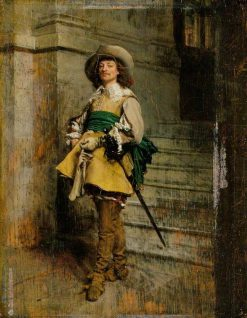 A Cavalier: Time of Louis XIII | Jean Louis Ernest Meissonier | Oil Painting