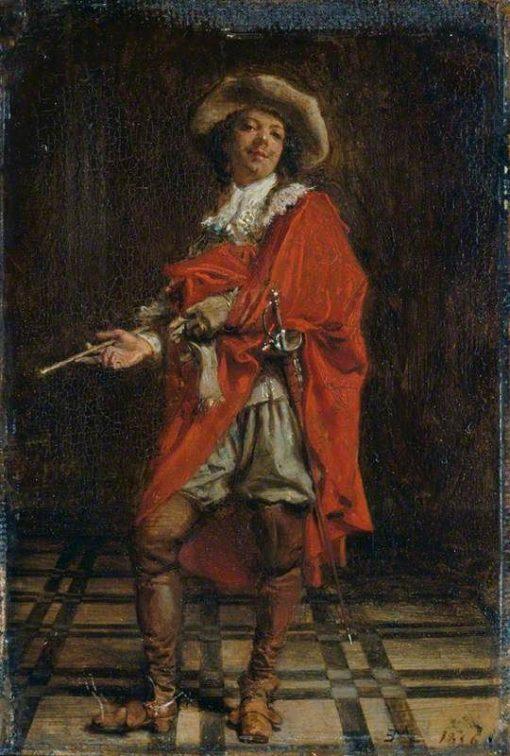 A Cavalier: Time of Louis XIV   Jean Louis Ernest Meissonier   Oil Painting