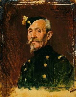 Colonel Félix Massue | Jean Louis Ernest Meissonier | Oil Painting