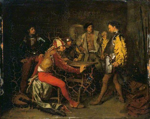 The Guard Room | Jean Louis Ernest Meissonier | Oil Painting