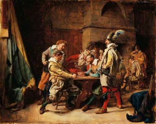 The Lost Game | Jean Louis Ernest Meissonier | Oil Painting