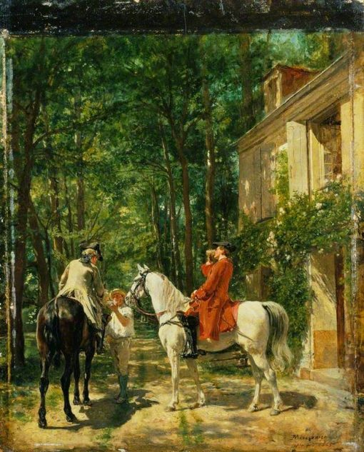 The Roadside Inn | Jean Louis Ernest Meissonier | Oil Painting