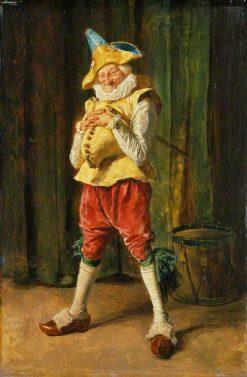Polichinelle   Jean Louis Ernest Meissonier   Oil Painting