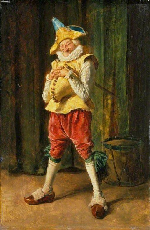 Polichinelle | Jean Louis Ernest Meissonier | Oil Painting