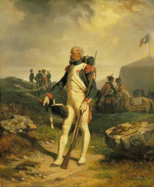 A Grenadier of the Guard | Joseph Louis Hippolyte BellangE | Oil Painting
