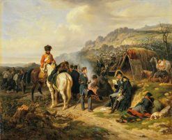The Despatch | Joseph Louis Hippolyte BellangE | Oil Painting