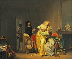 The Sorrows of Love | Louis LEopold Boilly | Oil Painting
