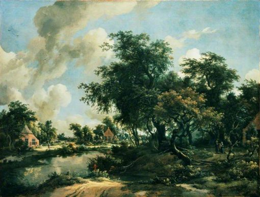 Stormy Landscape | Meindert Hobbema | Oil Painting