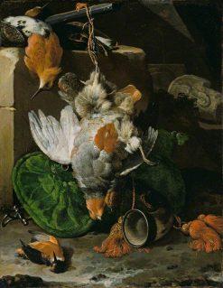 Dead Bird | Melchior d'Hondecoeter | Oil Painting