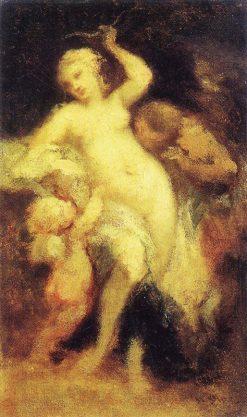 Venus Disarming Cupid | Narcisse Dìaz de la Peña | Oil Painting
